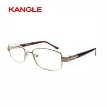 High Fashion Günstige wirtschaftliche Grundlinie Metall optische Rahmen / Metall Brillen für die Dame