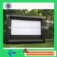 Outdoor gonflable big tv advertising board grand écran extérieur à vendre
