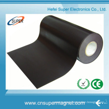 PVC Self Adhesive Flexible Magnetic Rubber Magnet with Strip Roll
