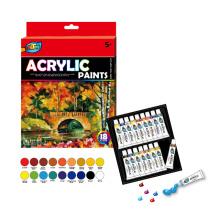 12 * 2ML Peinture acrylique de haute qualité
