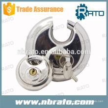 Chandelier à disque rond en acier inoxydable RP-132