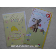 Personalizado impressão Cartão e envolva para Feliz Páscoa