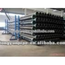 china astm a53 gr.b black steel pipe