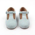Venta al por mayor Mary Jane T-bar Baby Shoes Wedding