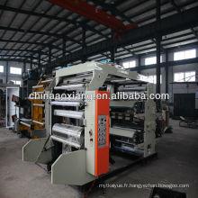 Trouvez tous les détails sur la machine d'impression flexographique couleur AX- 4