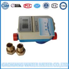 Medidor de água de pulso pré-pago com válvula de motor 1/2 '' - 1 ''