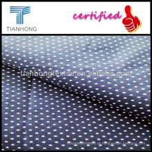 Polka Dot Weave liso popeline pano/impresso pontos Shirting tecido de algodão