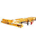 Semirimorchio trasporto semi-container 40ft Tri-axle