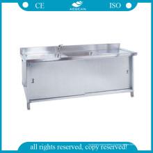 Éviers à eau en acier inoxydable AG-Was002 pour le nettoyage