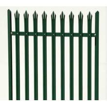 Euro Style independiente de metal Palisade valla / panel de valla de hierro forjado