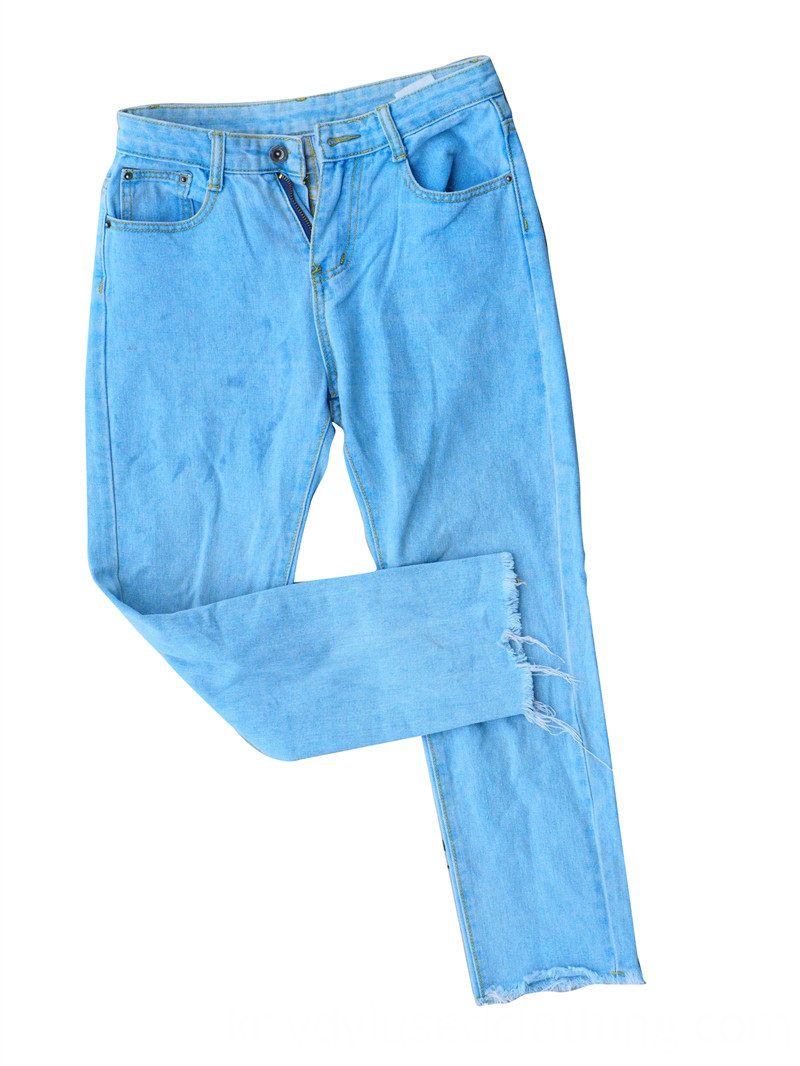 Cropped Jeans Male