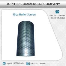 Altamente exigido resistente a la corrosión arroz Huller pantalla a bajo precio