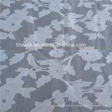 Tela de algodón de seda