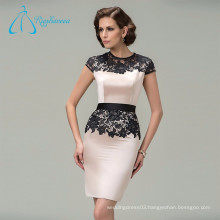 Sheath Cap Sleeve Lace Short Elegant Mother Of The Bride Dresses