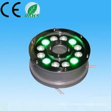 Alibaba курьерский новый продукт на рынке фарфора 100-240v 12V 24V 9w 12w ip65 rgb 24v солнечный фонтан свет