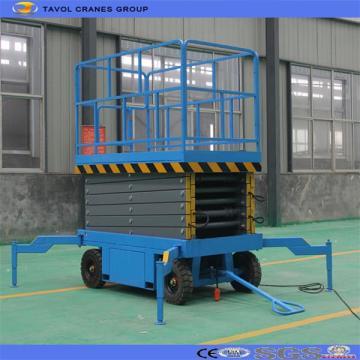 Elevador de tijera móvil hidráulico Shandong Supply