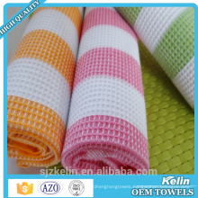 best selling products 100% cotton waffle weave 35*35cm dish cloth