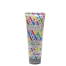 240 ml hotel shampoo tube offset printing plastic tube packaging with screw cap