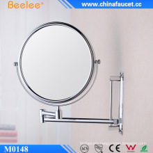 """6"""" and 8"""" Round Bathroom Adjustable Cosmetic Mirror with Magnifying"""