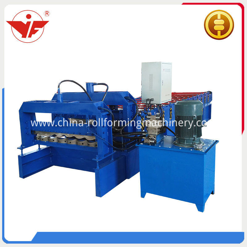 China Style Glazed Roll Forming Machine