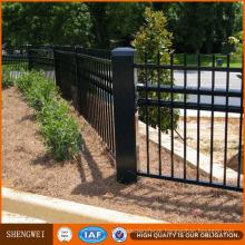 Elegant Yard Guard Wrought Iron Fence Design