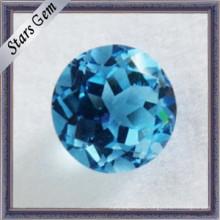 Piedras naturales del topaz del corte del diamante de la alta calidad para la joyería