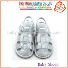 Chaussures en argent de fantaisie Chaussures chinoises chillottes et sandales enfants bon marché