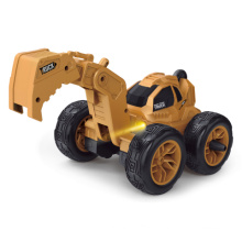 1/28 engineering Remote control 2.4G car Dazzling lighting with 360 degree Flip rotation function for fun gift for kids