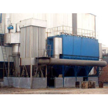 Medium frequency furnace deduster