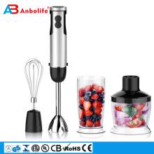 Presse-agrumes électrique en acier inoxydable moulin à café fouet à oeufs mélangeur de bâton de nourriture à main électrique 3in1 mélangeur en verre joyshaker bouteilles de mélangeur