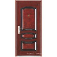 Panel de diseño de acero de la puerta de seguridad