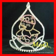 A coroa de tiara do concurso do pintainho do bebê a mais bonito para Easter