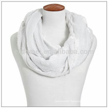 Solid color hollow 1 dollar scarf