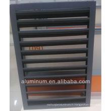 Fenêtres à persiennes en aluminium