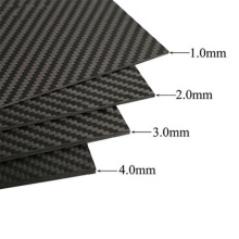 Carbon fiber plate for 4mm main plate arms