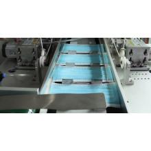 Máquina de fabricação de máscaras totalmente automatizada com moldura de alumínio