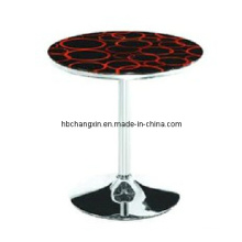 New Modern Design Glass Round Coffee Table