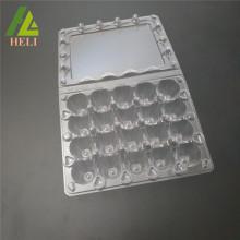 Conteneur de compartiment à œufs de caille en plastique 20 cellules