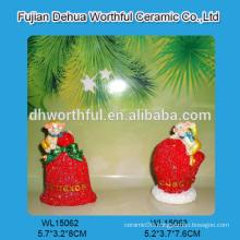 Wholesale resin christmas ornaments,resin monkeys figurine and custom monkey statue