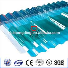colore roofing polycarbonate corrugated sheet