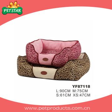 Lit à chien lavable sans glissement, lit à chien luxueux (YF87118)