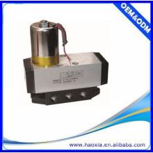 4 / 2way AC24V Vanne de commande électrique unique pneumatique avec haute qualité