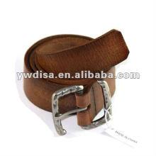 Wholesale Plain Genuine Leather Belt For Man