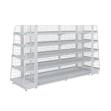 Excellent Surface Supermarket Display Shelving Units