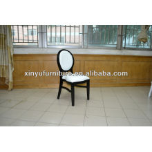 black and white style french banqueting chair 0715