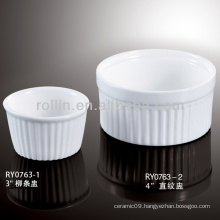 Wholesale china good quality chinese white porcelain soup cup