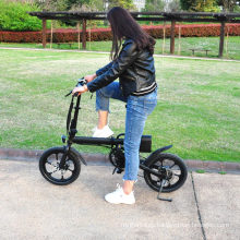 16inch Aluminum alloy 6061  Electric foldable MINI electric city bike 250w with all electric bike  parts