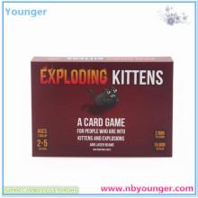 Exploding Kittens Paper Card Game