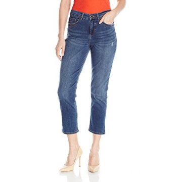Moda damska Cotton Capris Denim Blue