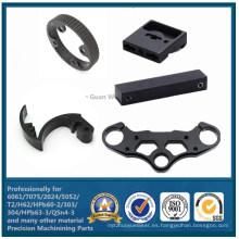 Piezas del CNC de la precisión hechas del aluminio (WKC-498)